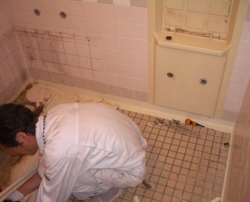 以前遺品整理を頼まれたお客様より浴室リフォームのご依頼です|埼玉県川口市