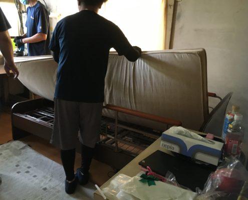 電動介護ベッドの移動は、専門業者の作業で。VOL.3 by便利屋ハッピー