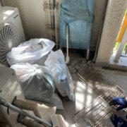 川口市|マンション大規模修繕工事のためベランダの荷物移動と処分 by便利屋ハッピー