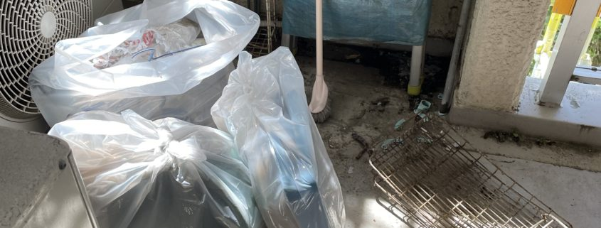 川口市 マンション大規模修繕工事のためベランダの荷物移動と処分 by便利屋ハッピー