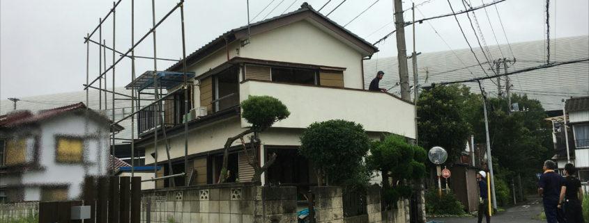 埼玉県川口市|区画整理のため解体、工事はじまる by便利屋ハッピー