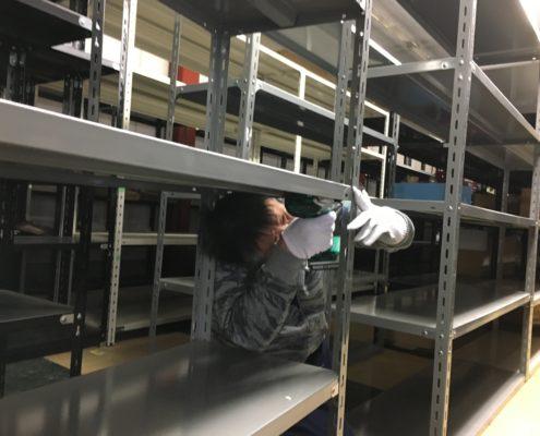 埼玉県川口市|倉庫移転につき、150台のスチールラック解体! by便利屋ハッピー