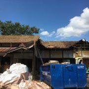 茨城県20数年放置された空き家の解体|2度の超大型台風襲来を乗り越えて by便利屋ハッピー