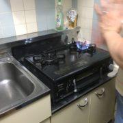 埼玉県川口市|ガステーブルの交換とお掃除 by便利屋ハッピー