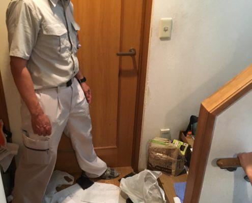 埼玉県川口市4LDK一戸建住宅/定期的にご依頼いただくゴミの片づけと除菌・消臭