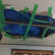 埼玉県所沢市|台風19号被害で雨漏り補修工事1「天井補修工事」 by便利屋ハッピー