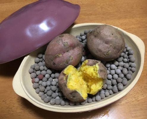 さつまいもで石焼き芋をやく!? by便利屋ハッピー