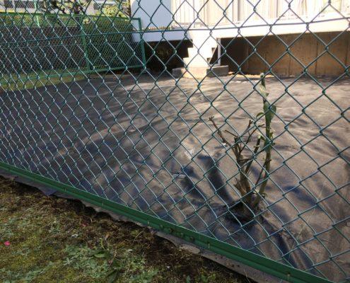 埼玉県川口市|ご実家の庭の草刈りと防草シートはり by便利屋ハッピー