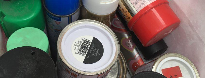 たまってしまったスプレー缶回収・処分by便利屋ハッピー