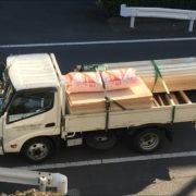 埼玉県戸田市分譲マンションのフルリフォーム番外編|木材搬入。3Fまで、自ら運ぶ。by便利屋ハッピー